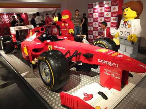 Lego F1 - Full Scale